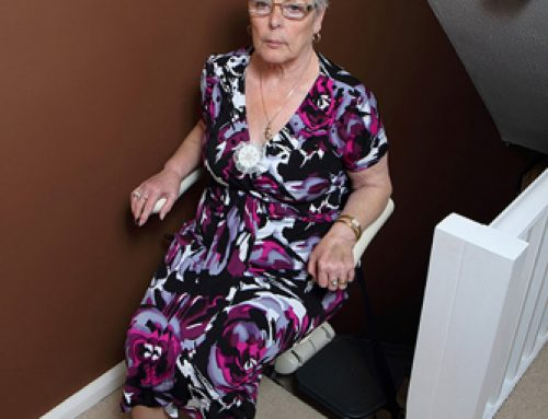 Meditek Straight Stairlift with Manual and Powered Swivel Seat options